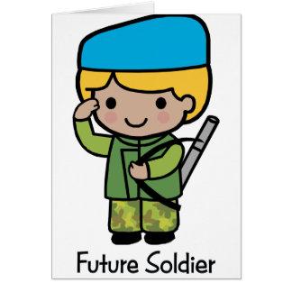 Cartão Soldado futuro