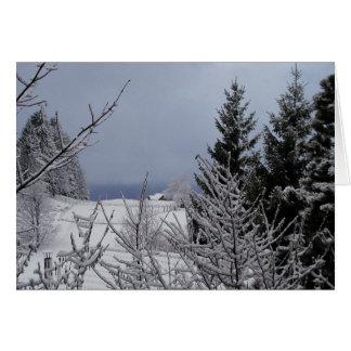 Cartão Solstício de inverno