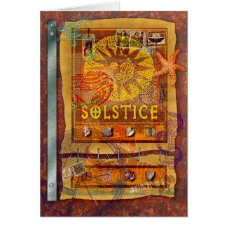 Cartão Solstício de verão