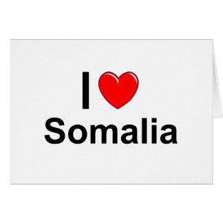 Cartão Somália