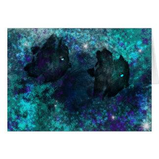 Cartão Sombras da água