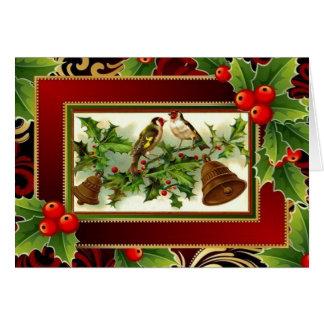 Cartão Songsters do Natal