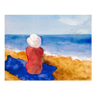 """Cartão """"sonhador """" das belas artes de Marilyn Cartão Postal"""