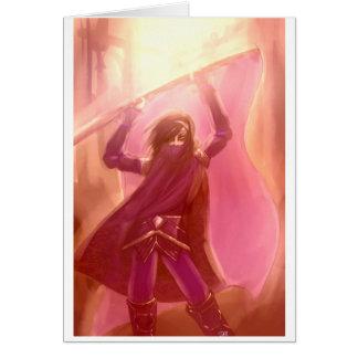 Cartão Sonhador o guerreiro