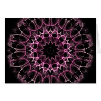 Cartão Sonho cor-de-rosa