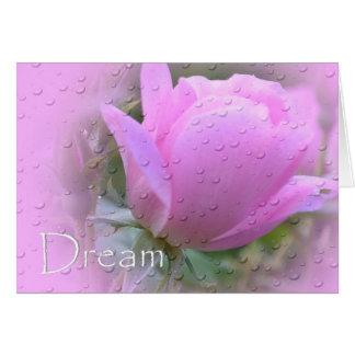 Cartão Sonho-Cor-de-rosa aumentou