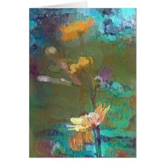 Cartão Sonho das flores