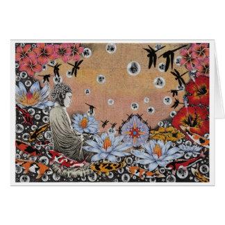 Cartão Sonho III da libélula (Satori no Fishpond)