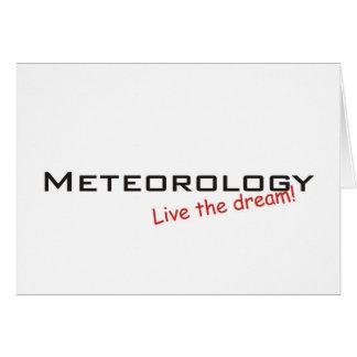 Cartão Sonho/meteorologia