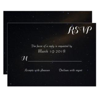 Cartão Sonhos celestiais RSVP