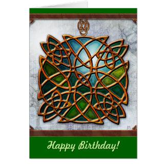Cartão Sonhos celtas (cartão de aniversário)