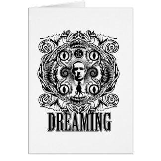 Cartão Sonhos de Lovecraftian