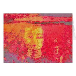 Cartão Sonhos de Tara nos rosa