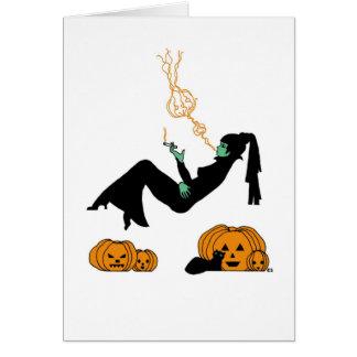 Cartão Sonhos do Dia das Bruxas