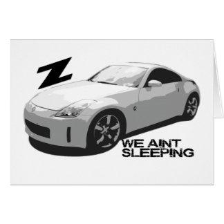 Cartão sono de 350Z Aint