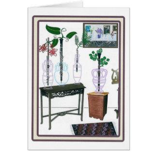 Cartão Sopros de florescência