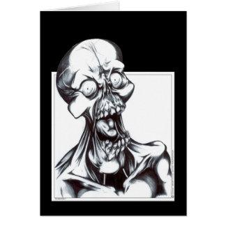 Cartão Sorrindo o Ghoul