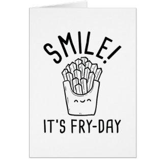 Cartão Sorriso! É Fritada-Dia