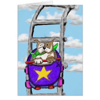 Cartão SORRISOS de STAFFIE - a vida é um roller coaster
