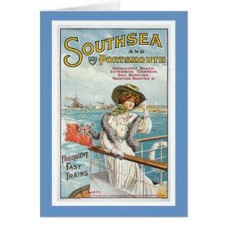 Cartão Southsea e Portsmouth