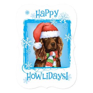 Cartão Spaniel feliz de Howlidays Boykin