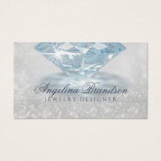 Cartão Sparkling do desenhista da jóia do
