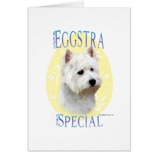 Cartão Special de Westie Eggstra