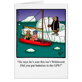 """Cartão """"Spectickles """" do humor do bon voyage"""