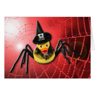 Cartão Spiderwoman Ducky!