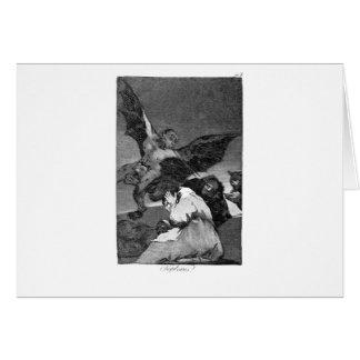 Cartão Squealers? por Francisco Goya