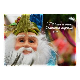 Cartão Sr. Azul Claus