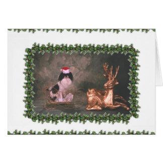 Cartão Sr. Chin Christmas_sleigh