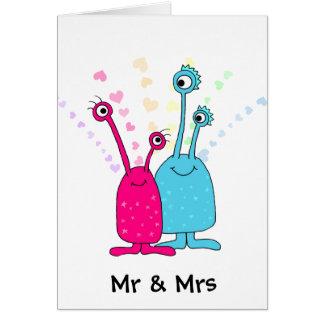 Cartão Sr. e Sra.