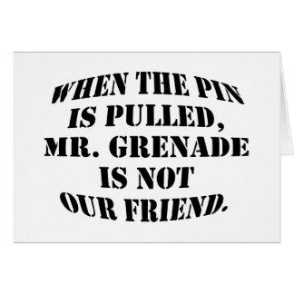 Cartão Sr. Granada