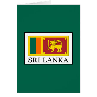 Cartão Sri Lanka