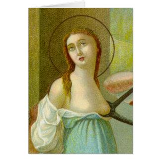 Cartão St. Agatha (M 003)