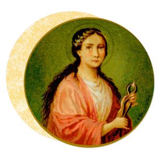 Cartão St. Apollonia (BLA 001) redondo