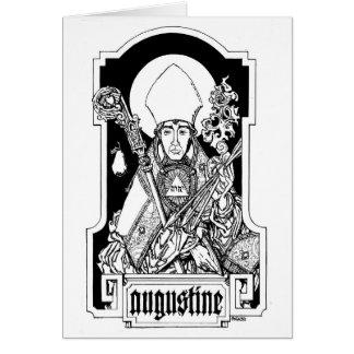 Cartão St Augustine do hipopótamo Notecard