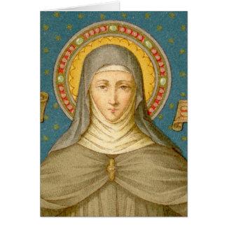 Cartão St. Clare do cumprimento de Assisi (SAU 027)
