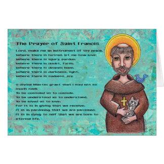 Cartão St Francis de Assisi Notecard