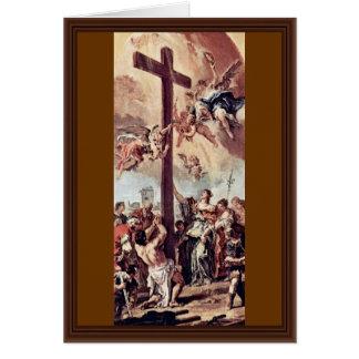Cartão St Helena encontrou o esboço transversal