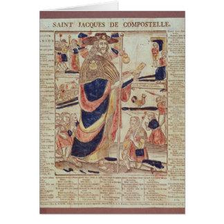 Cartão St James de Compostela, c.1824