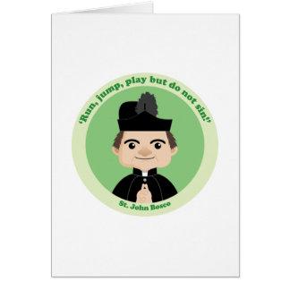 Cartão St John Bosco
