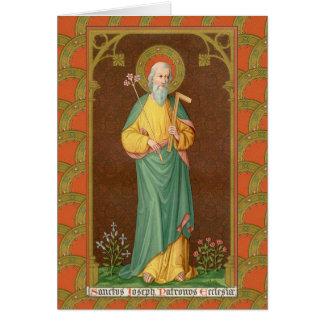 Cartão St Joseph, consumidor da igreja (SAU 35)