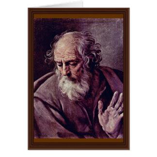 Cartão St Joseph por Reni Guido