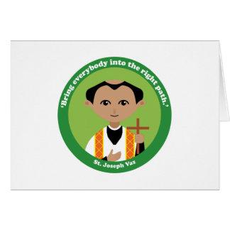 Cartão St Joseph Vaz