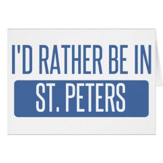 Cartão St Peters