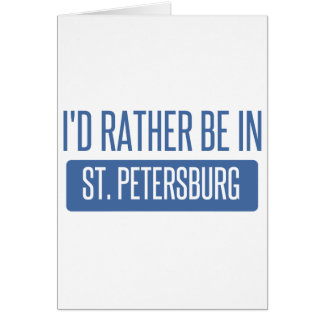 Cartão St Petersburg