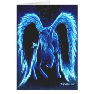 Cartão Starlit de Pegasus do Stroll