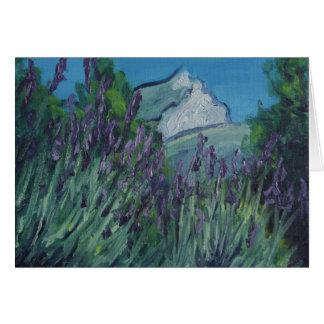 Cartão Ste Victoire no verão